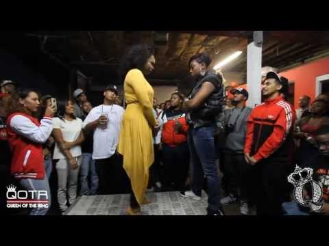 BABS BUNNY & VAGUE present QOTR SPARRING SESSION VICKY MYERS vs S.O. FINESSE