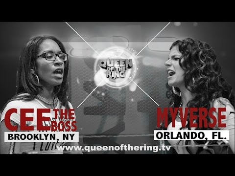 BABS BUNNY & VAGUE   QUEEN OF THE RING   MYVERSE vs CEE THE BOSS