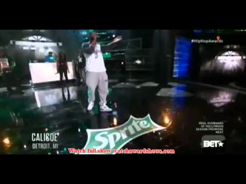 Arsonal, Couture, Calicoe, and Murda Mook 2014 BET Stage Cypher
