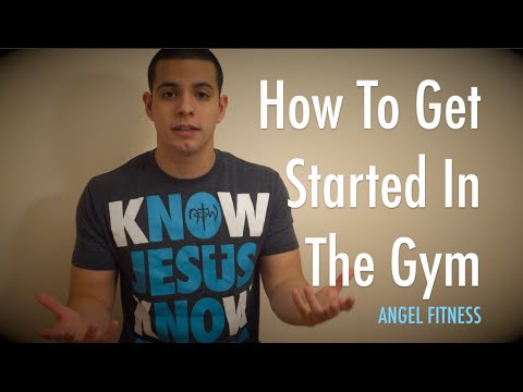 Angel Fitness: How To Get Started In The Gym