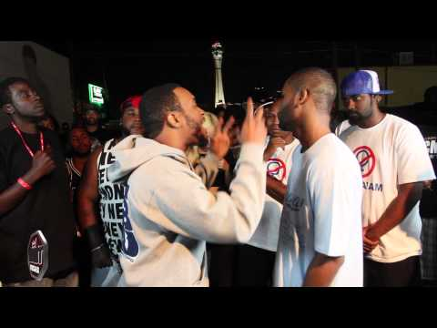 Rap Battle Lotta Zay vs Krucial Ken | New Jersey vs Kentucky | AHAT