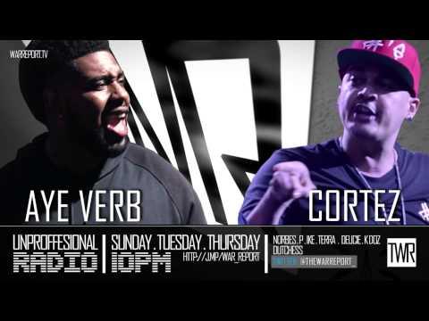 CORTEZ & AYE VERB TALKS CORTEZ BEING DUCKED