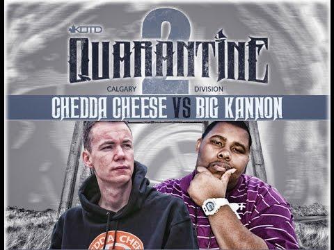 KOTD - Rap Battle - Chedda Cheese vs Big Kannon