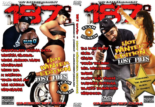 187 DVD Lost Files (HOT WINTER EDITION)...