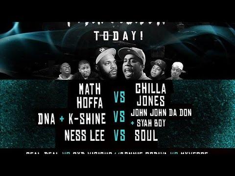 @UnbiasReview - Chilla Jones vs Math Hoffa ( who really won )