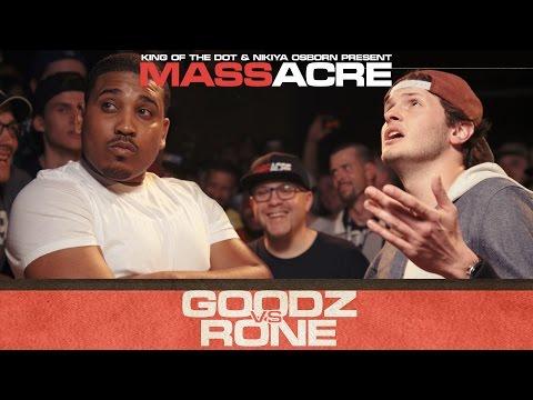 KOTD - Rap Battle - Rone vs Goodz