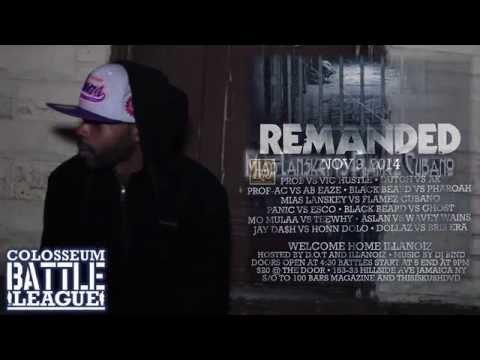 BlackBeard discusses The Colosseum Battle League REMANDED Event