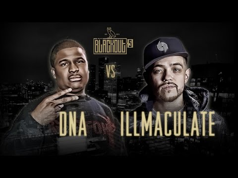 KOTD - Rap Battle - Illmaculate vs DNA