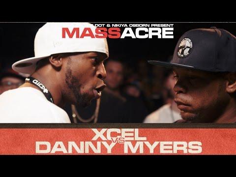 KOTD - Rap Battle - Xcel vs Danny Myers