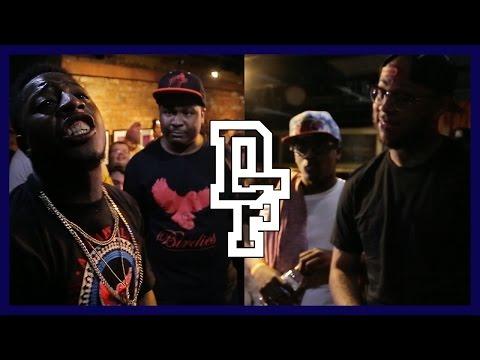 K-SHINE & DNA VS SYAH BOY & JOHN JOHN DA DON | Don't Flop Rap Battle