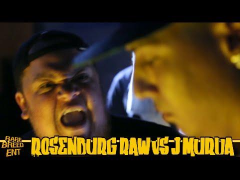 ROSENBURG RAW VS J MURDA FULL RAP BATTLE - RBE