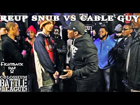 The Colosseum Battle League - Cable Guy vs Reup Snub -  FightBack Day 2