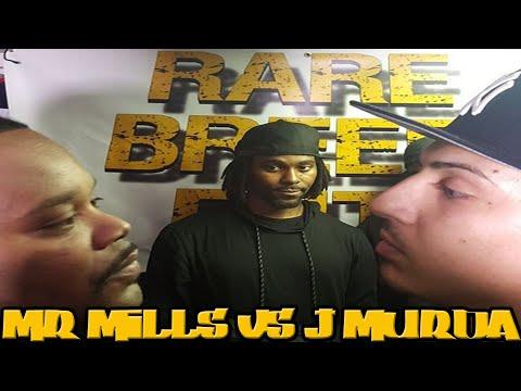 MR MILLS VS J MURDA FULL RAP BATTLE - RBE