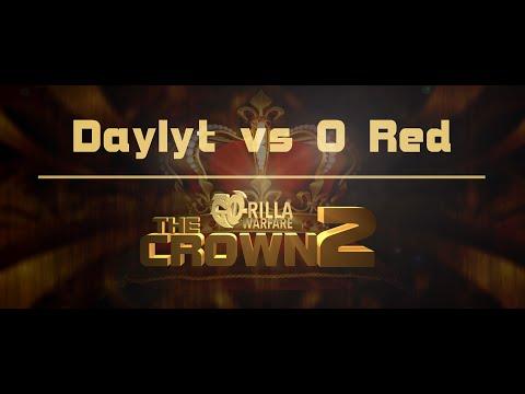 GO-RILLA WARFARE: Daylyt vs O Red || THE CROWN 2