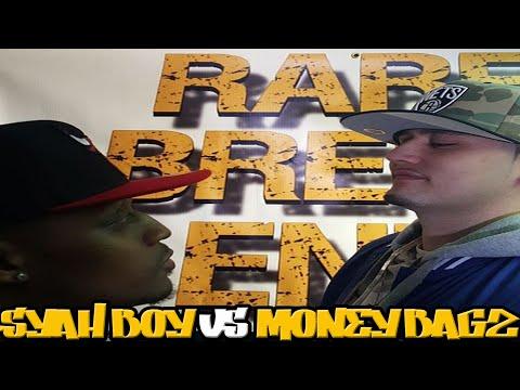 SYAH BOY VS MONEY BAGZ FULL RAP BATTLE - RBE