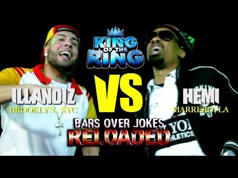"Vague Presents: Illanoiz vs Hemi King Of The Ring ""Bars over Jokes"" Reloaded"