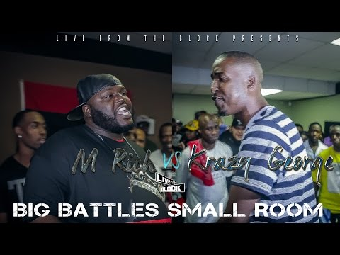 LFTB - M Rich vs Krazy George [Hosted by Aspect One of URL West]
