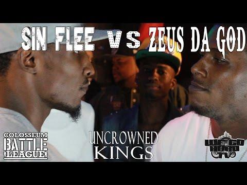 The Colosseum Battle League - Uncrowned Kings - Zeus Da God vs Sin Flee