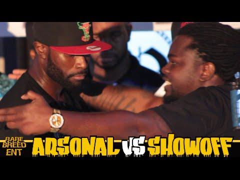 ARSONAL VS SHOWOFF FULL RAP BATTLE - RBE