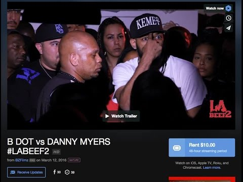 Danny Myers vs B Dot / LABeef 2/ LABattleGroundz/ LABG
