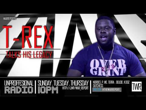 T REX TALKS HIS LEGACY & THE LACK OF REAL NIGGAS IN BATTLE RAP