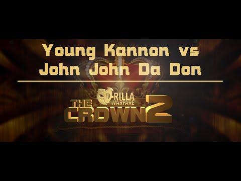GO-RILLA WARFARE: YOUNG KANNON VS JOHN JOHN DA DON
