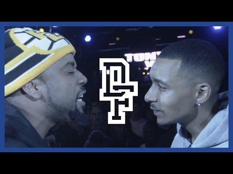 TONY D VS CHILLA JONES | Don't Flop Rap Battle