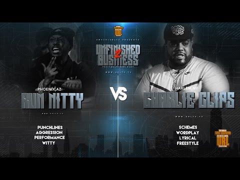 RUM NITTY VS CHARLIE CLIPS SMACK/ URL RAP BATTLE