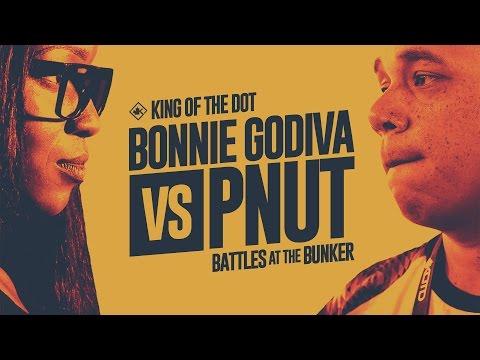 KOTD - Rap Battle - Bonnie Godiva vs Pnut | #BATB1