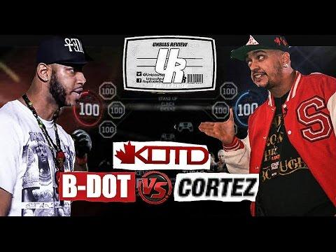 KOTD bunker:  Bdot vs Cortez ( @unbiasreview ppv recap )
