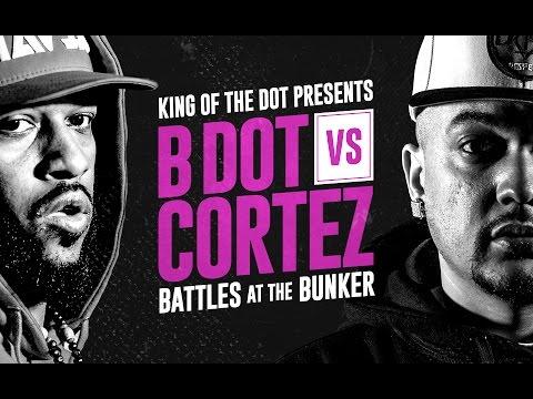 KOTD - Rap Battle - B. Dot vs Cortez | #BATB4
