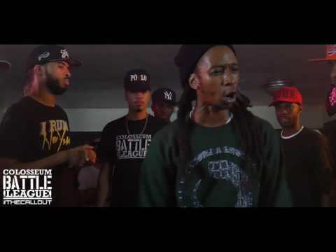 The Colosseum Battle League (The Call Out) Nu York vs Breezy Nice