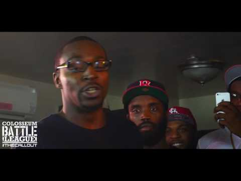 The Colosseum Battle League (The Call Out) T-Rav vs Dubble Stackz