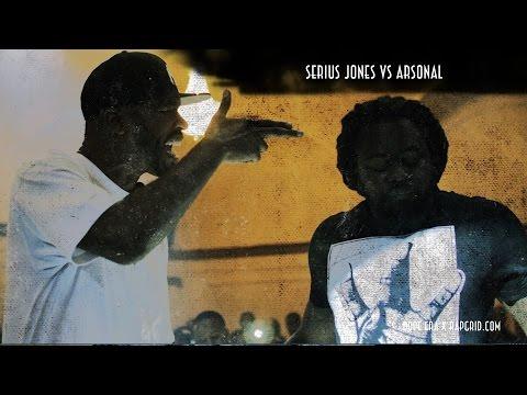 Arsonal vs Serius Jones | Rap Grid & Dope Era's No Mask | Rap Battle