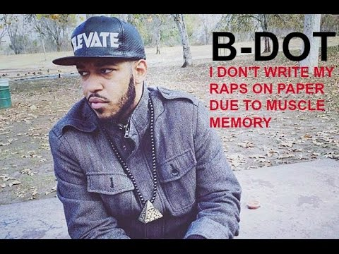 "@UnbiasReview speaks to B-DOT:  ""I don't write raps on paper """