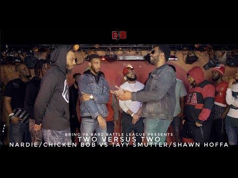 Tayy Smutter/Shawn Hoffa versus Nardie/Chicken Bob - Bring Ya Barz Battle League - Tension 2