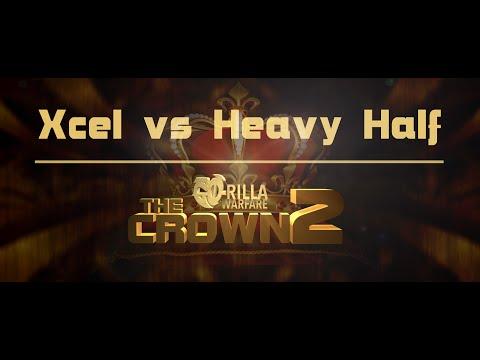 GO-RILLA WARFARE: Xcel vs Heavy Half || THE CROWN 2