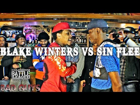 The Colosseum Battle League  - Sin Flee vs Blake Winters - Bad Guys Event