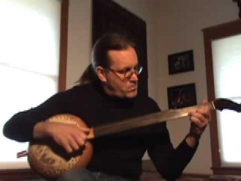 "L. M. Gottschalk's ""The Banjo"" on a banjo"