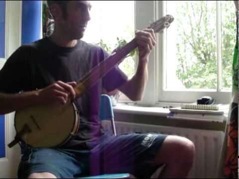 Injin Rubber Overcoat, fretless banjo