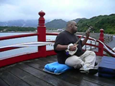 Shamisen Playing 2005