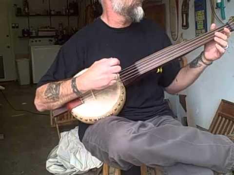 Gourd Banjo  Angeline The Baker