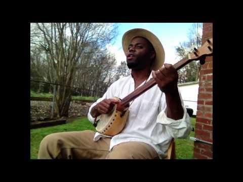 """Cedric Watson on gourd banjo """"Darlin Cori"""""""