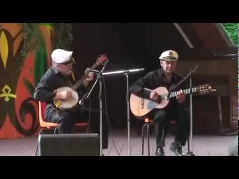 Solo. Banjo. Guitar. Duo. Blues busker. Farewell of Slavianka,