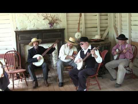 Music at the Charles Sweeney Cabin, Appomattox, Virginia