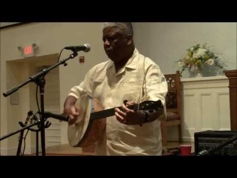 "The Reverend Robert Jones playing Josh Thomas' ""Roustabout"""