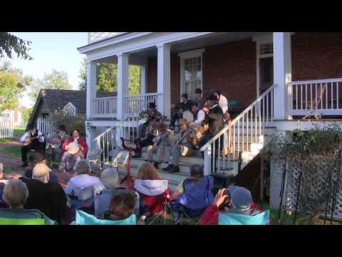 Saturday Night Concert at the Sweeney Convergence, Appomattox Courthouse, Virginia. (2017)