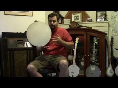 Mid 19th Century Minstrel Tambourine