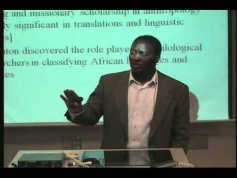 Africa in World History and Anthropology - Saneta Maiko