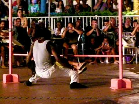 Limbo Man In The Bahamas